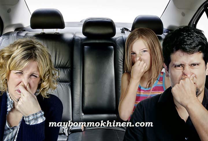khử mùi hôi ô tô